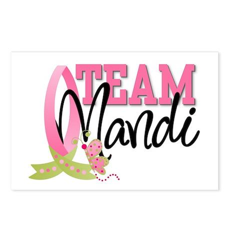 Team Mandi Postcards (Package of 8)