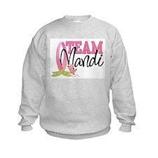 Team Mandi/Find a Cure Sweatshirt
