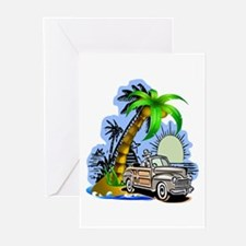 Tropical Scene Greeting Cards (Pk of 20)