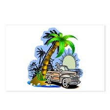 Tropical Scene Postcards (Package of 8)
