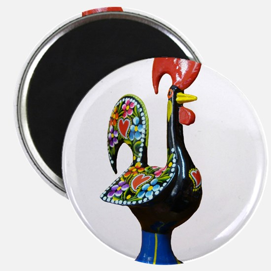 Barcelos Good Luck Rooster Magnets