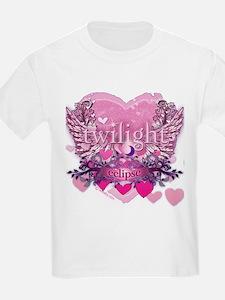 Twilight Eclipse Pink Heart T-Shirt