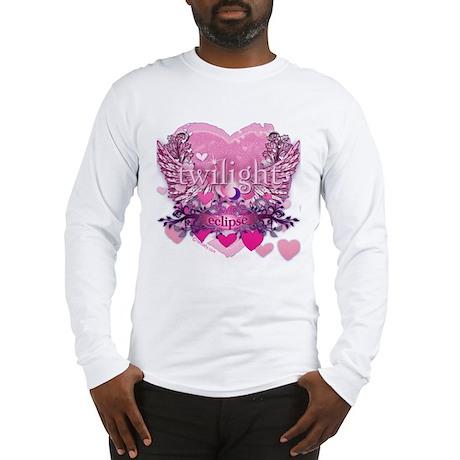 Twilight Eclipse Pink Heart Long Sleeve T-Shirt