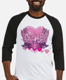 Twilight Eclipse Pink Heart Baseball Jersey