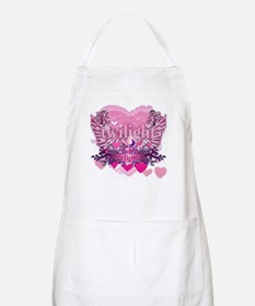 Twilight Eclipse Pink Heart Apron