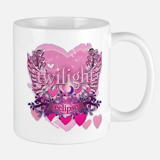 Twilight Eclipse Pink Heart Mug