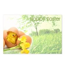 Cute Happy easter Postcards (Package of 8)