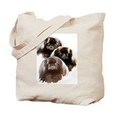 pekingese group Tote Bag