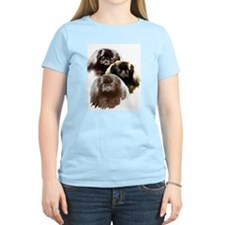 pekingese group Women's Pink T-Shirt