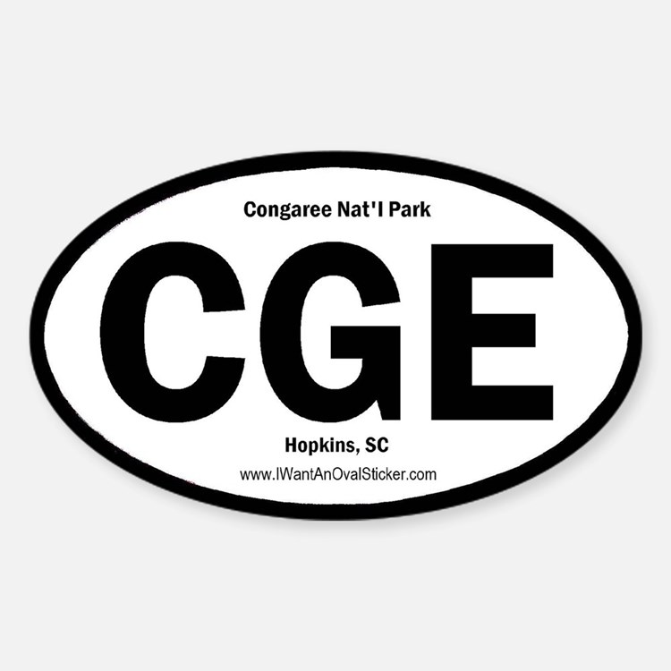 Congaree Oval Decal