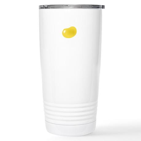just yellow jellybean Stainless Steel Travel Mug