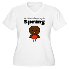 Robin Redbreast Spring T-Shirt