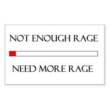 Not Enough Rage Decal