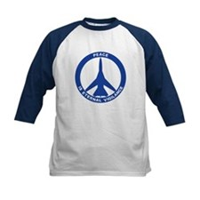 FB-111A Peace Sign Kid's Baseball Jersey