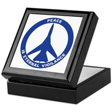 FB-111A Peace Sign Keepsake Box