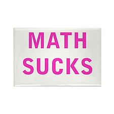 Math Sucks Rectangle Magnet
