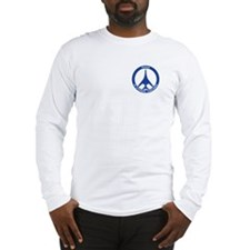 B-1B Peace Sign Long Sleeve T-Shirt