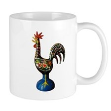 Modern Good Luck Rooster Mugs
