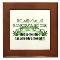 I Finally Found The Pot Framed Tile