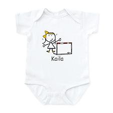 Track - Kaila Infant Bodysuit