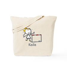 Track - Kaila Tote Bag