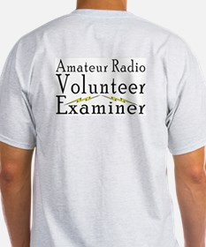 Amateur Radio VE Ash Grey T-Shirt