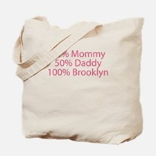 100% Brooklyn Tote Bag