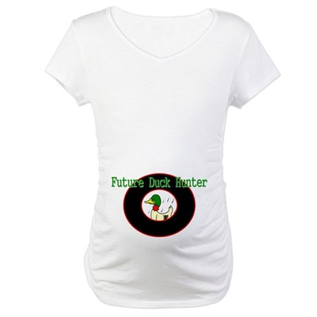 FUTURE DUCK HUNTER Maternity T-Shirt
