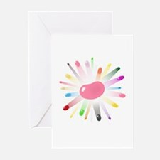 kids jellybean blowout Greeting Cards (Pk of 20)