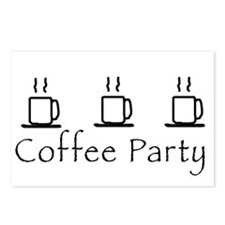 Coffee Party Postcards (Package of 8)