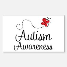 Butterfly Autism Awareness Decal