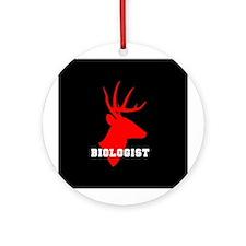 Biologist (deer) Ornament (Round)