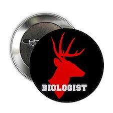 """Biologist (deer) 2.25"""" Button (10 pack)"""