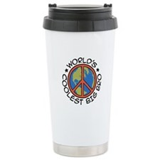 World's Coolest Big Bro Travel Coffee Mug