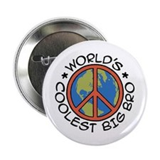 "World's Coolest Big Bro 2.25"" Button"