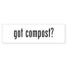 got compost Bumper Stickers