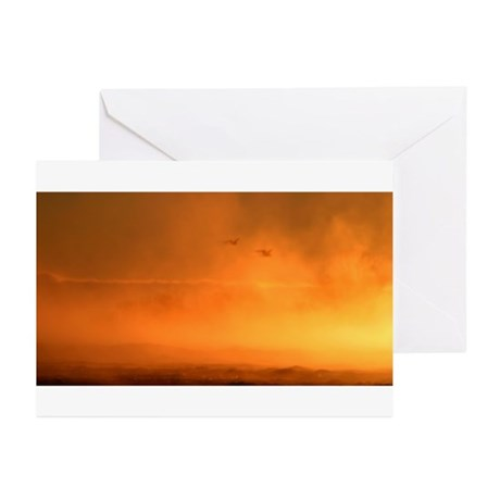 Fire and Ice Greeting Cards (Pk of 10)