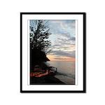 Lake Ontario Framed Panel Print
