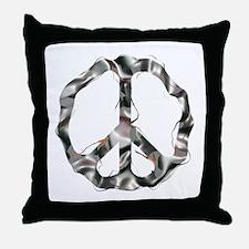 Steel CND Throw Pillow