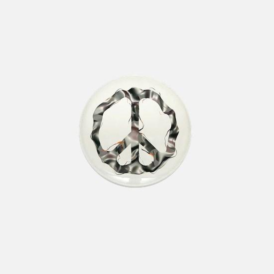 Steel CND Mini Button