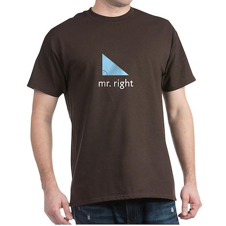 Mr. Right Dark T-Shirt