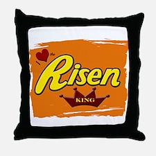 Risen Jesus Reeses Easter Throw Pillow