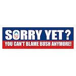Sorry Yet? Sticker (Bumper 10 pk)