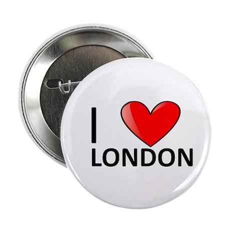 "I <3 London 2.25"" Button"
