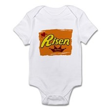 Risen Jesus Reeses Easter Infant Bodysuit