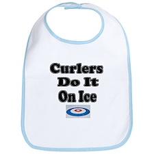 Curlers Do It On Ice Bib