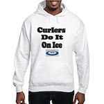 Curlers Do It On Ice Hooded Sweatshirt