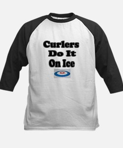 Curlers Do It On Ice Tee