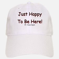 Just Happy Baseball Baseball Cap