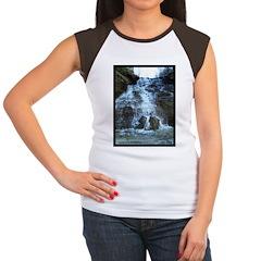 Lake Erie Waterfall Women's Cap Sleeve T-Shirt